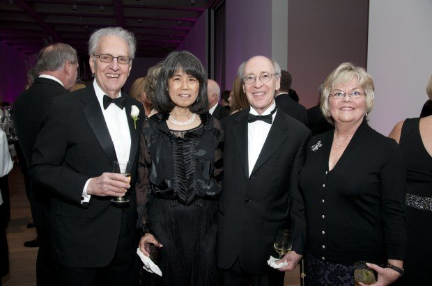 Jeffy Sincoff, Cheryl and Lawrence Katzenstein, Suzanne Sincoff