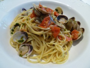 pasta with clams