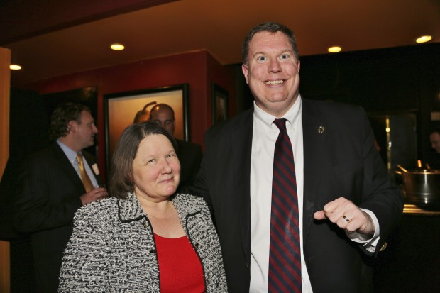 Nancy Georgen, Tony Lyons