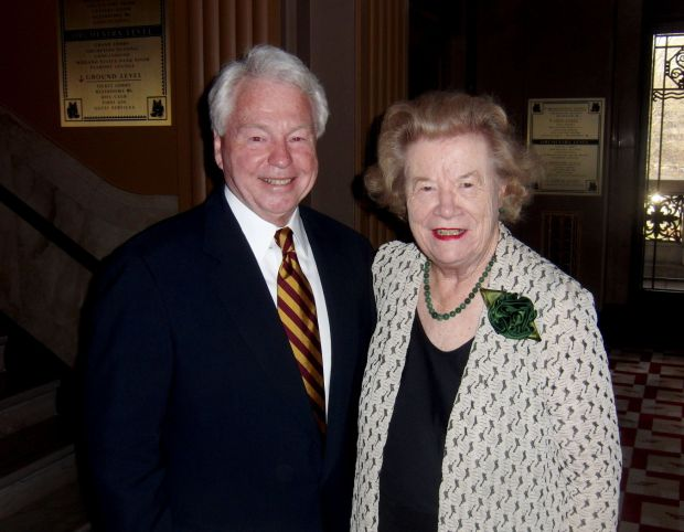 Ted Hellman, Blanche Touhill