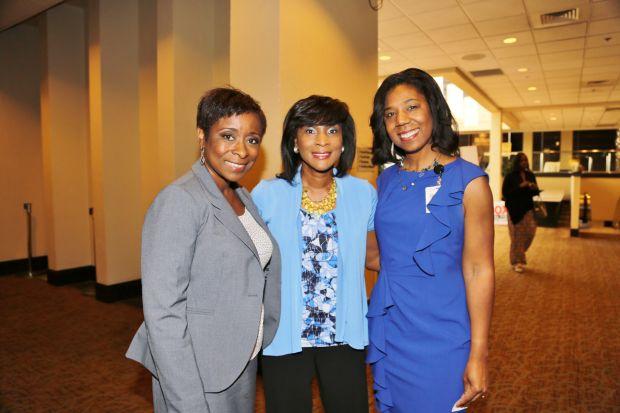 Marnice Daniels, Shirley Washington, Roz Robinson
