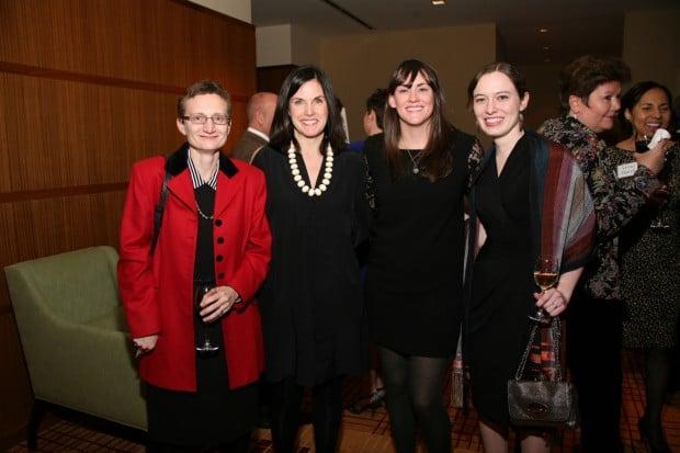 Ellen Theroff, Margaret McDonald, Chrissy Rogers, Emily Coffman