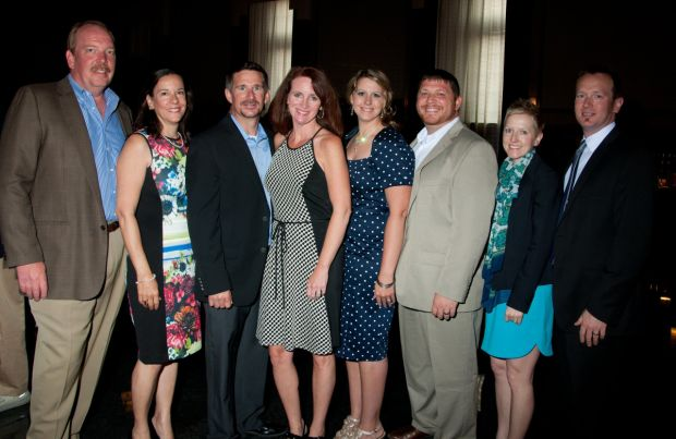 Steve and Angela L'Hommedieu, Cindy and Todd Goodrich, Jason and Anna Lind, Andy and Heather Leek