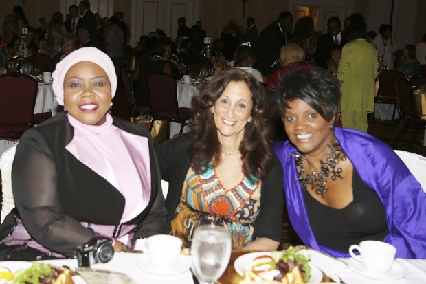Dr. Aysha Murbarak, Rabbi Susan Talve, Anna Maria Horsford