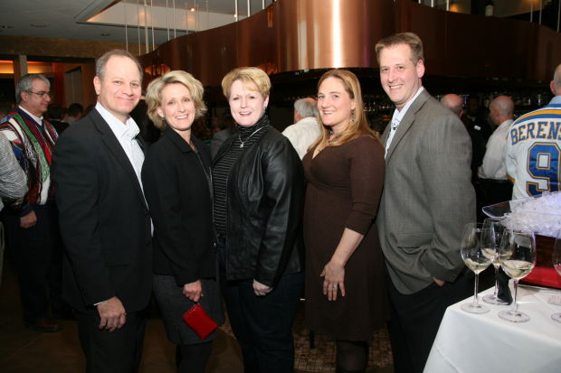 Brad and Linda Brauer, Laurie Schwetz, Karey Schwetz, Joe Schwetz