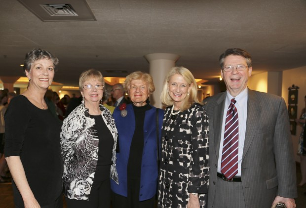 Judy Votino, Lois Schoemehl, Carolyn Losos, Kitty Ratcliff, Vince Schoemehl