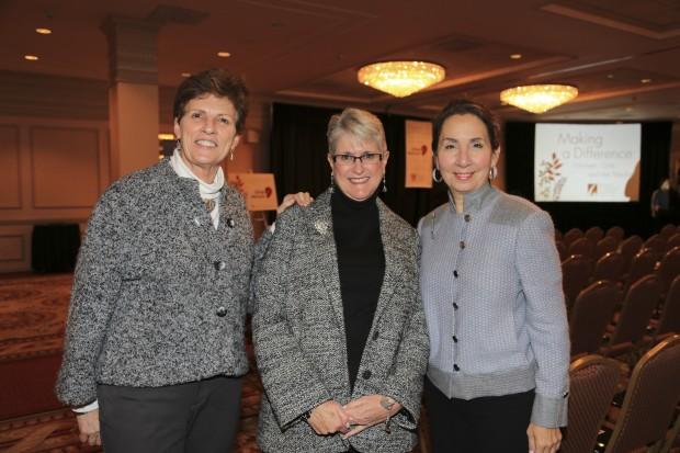 Jean Cavender, Susan Saxton, Judy Leventhal