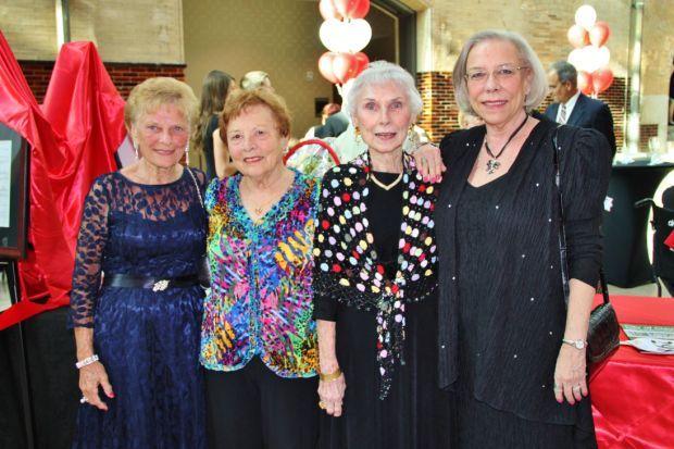 Carol Lundstrom, Betty VonHoffmann, Jean Sheets, Linda Sheets