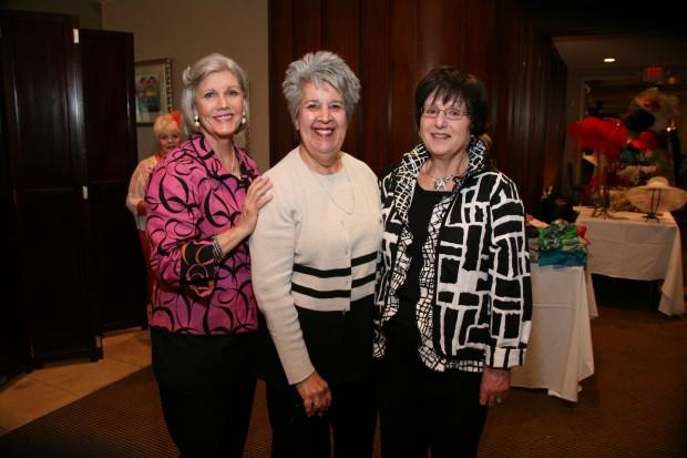 Kathy Holman, Ruth Lichtenfeld, Barbara Cohn