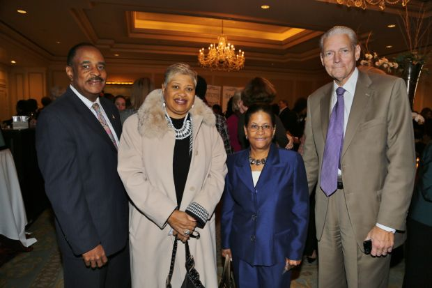 John Shivers, Mayor Viola Murphy, Mayor Monica Huddleston, Joe Riebold