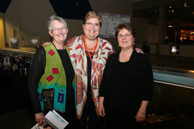 Margaret Johnson, Marcia Levin, Pam Moussette