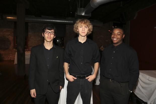 Zach Arias, Kevin Baudrexl, Zach Morrow