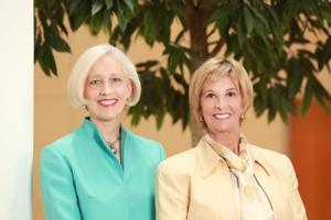 Sing for Siteman co-chairs Kim Eberlein and Cheri Fromm