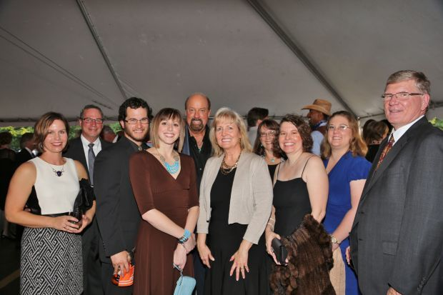 Susan and Frank Ehlers, Tim and Gina Martin, Bill and Lori Bockman, Marsha Raney, Janelle Dobbins, Jennifer Yackley, Carl Raney