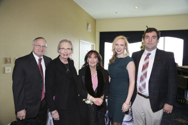 Russ and Katherine Schamburg, Lynn Broeg, Heidi Scvhamburg, Peter Wheeler