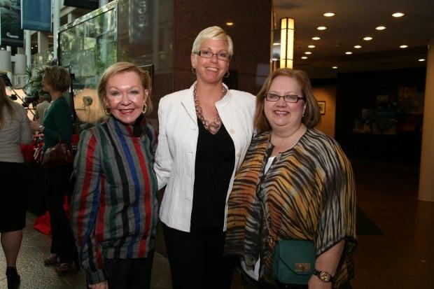 Donna Wilkinson, Rachel Brown, Rita Crain