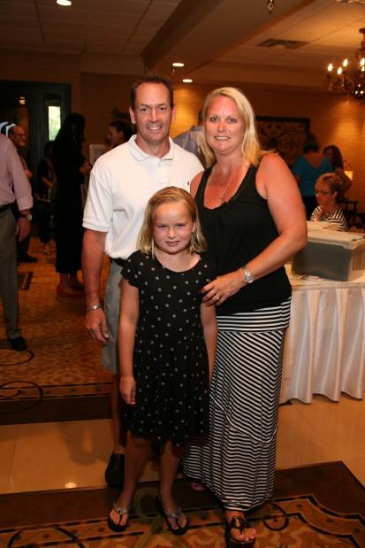 Matt, Annika and Bridget Nyberg