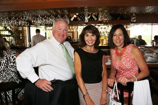 Jim Neville, Kathy Hamlin, Carol Neville