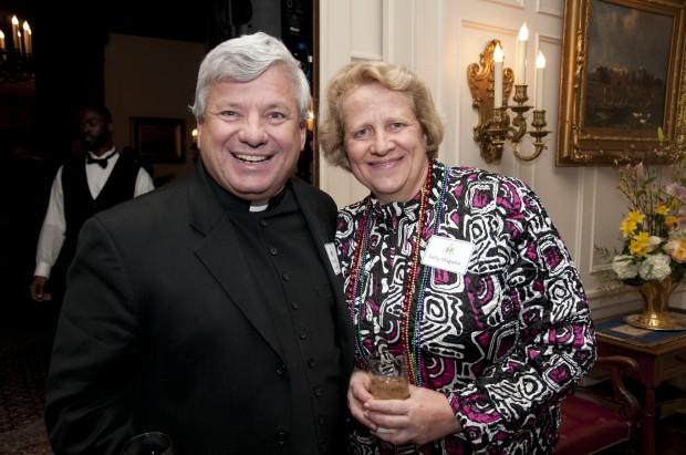Msgr. John Shamleffer, Sally Maguire