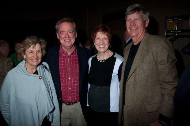 Dale and Tom Auffenberg, Liz and Paul St. Cin