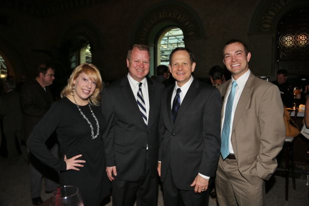 Brenda and Ray Lang, Mayor Francis Slay, Herbert Smith