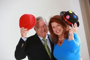 NEW Flora Dora co-chairs Richard and Kathie Winter