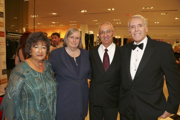 Nancy Kranzberg, Jeanne and Rex Sinquefield, Ken Kranzberg