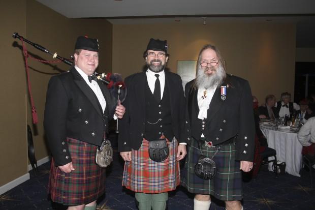 Matt Pantaleoni, Wayne Davis, Jim Slack