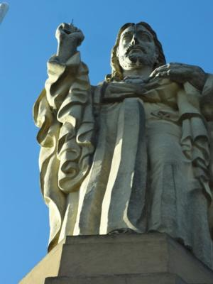 Christ of the Sacred Heart statue