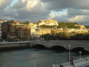 Bridge of Hotel Maria Cristina