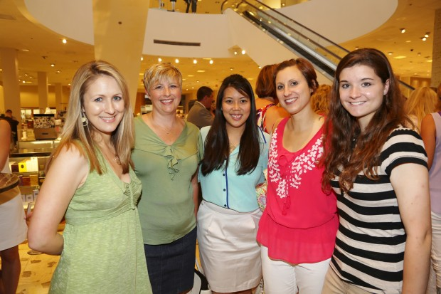 Wendy Walker, Donna Halloran, Dr. Candice Troxell, Leslie Hinyard, Eileen Larsen
