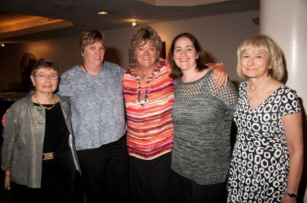 Joan Briccetti, Laurie Whelan, Nancy Tonkins, Katy Kaufman, Kathy Krzyz