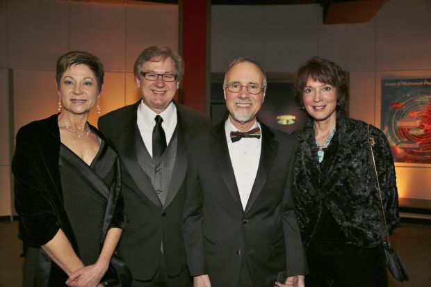 Sharon Swanson, Dennis Lower, Tom George, Barbara Harbach