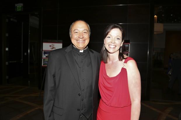 Fr. Gary Braun, Angie Mersea
