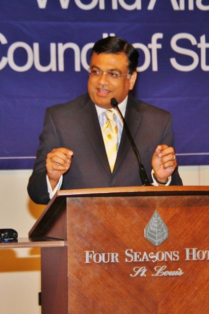 Deepak Kant Vyas, CEO of World Affairs Council Saint Louis