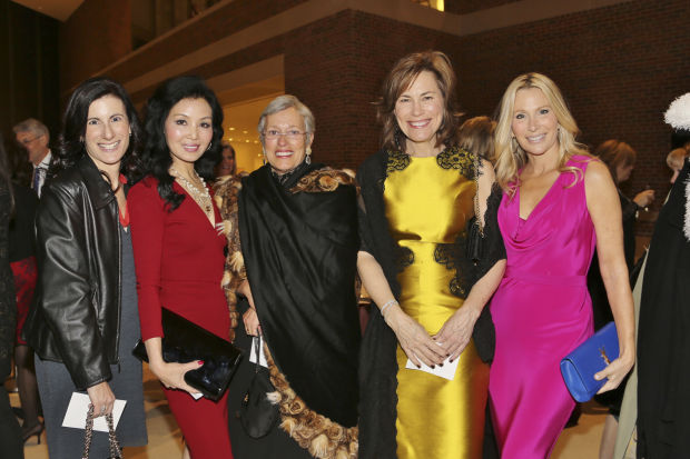 Rabbi Elizabeth Hersh, Miran Halen, Alison Ferring, Sue McCollum, Paula Reed
