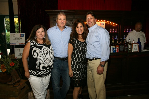Sherrie and Jon Hodgins, Tanya and Jerry Carter
