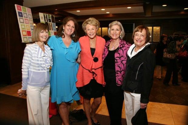 Diane Buhr, Linda Nash, Jane Wright, Kathy Holman, Jane Vickrey