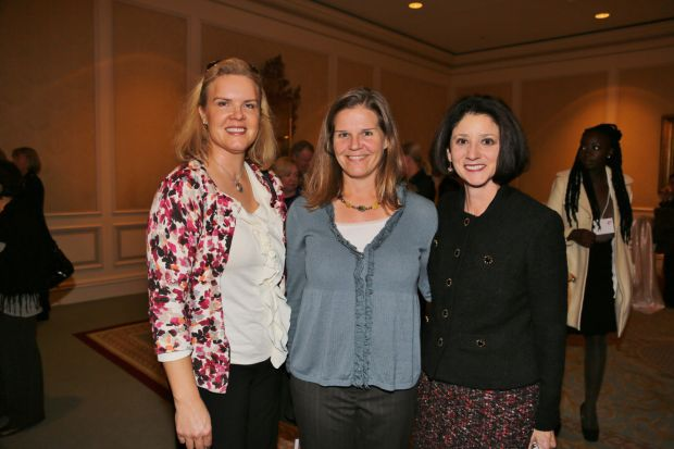 Jeanne Champer, Holly James, Veronica McDonnell
