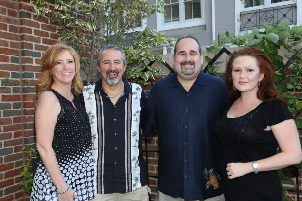 Sherri and Andy Karandzieff, Steve and Lisa Bly
