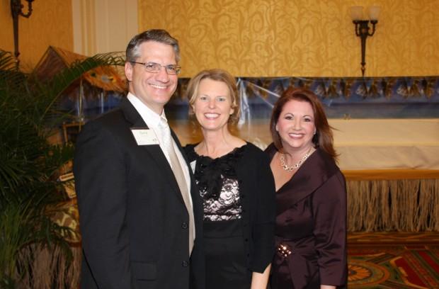 Gary and Rhonda Fischer, Andrea Miller
