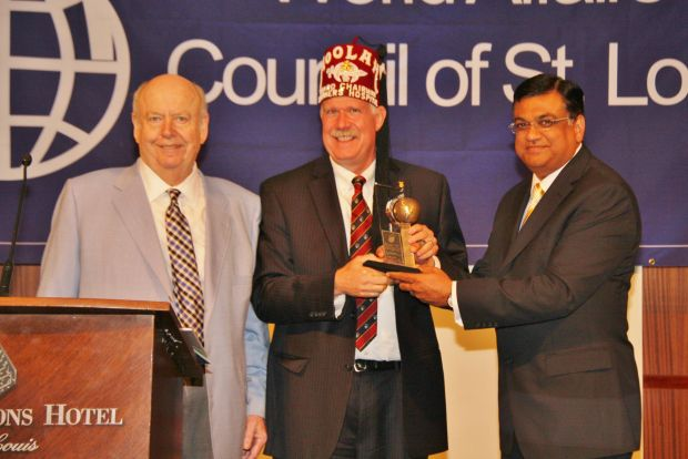 Robert Fischer, Theodore D. Dearing, Chairman of the Board of Governors, Shriners Hospital for Children St.Louis, Deepak Kant Vyas