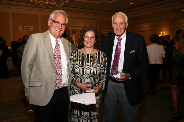 Dr. Steve Goodrich, Joan Williams, Bill Slattery