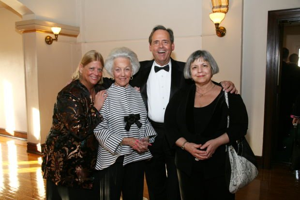 Connie Green, Marian Burger, Bob Fletcher, Dr. Hope Heller
