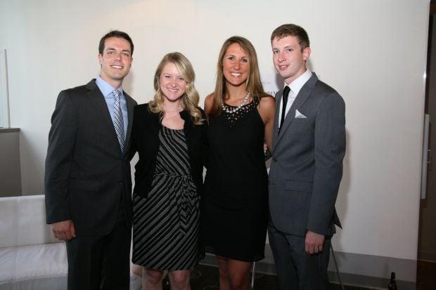 Jordan and Katie Nepute, Laura Droege, Greg Schwan
