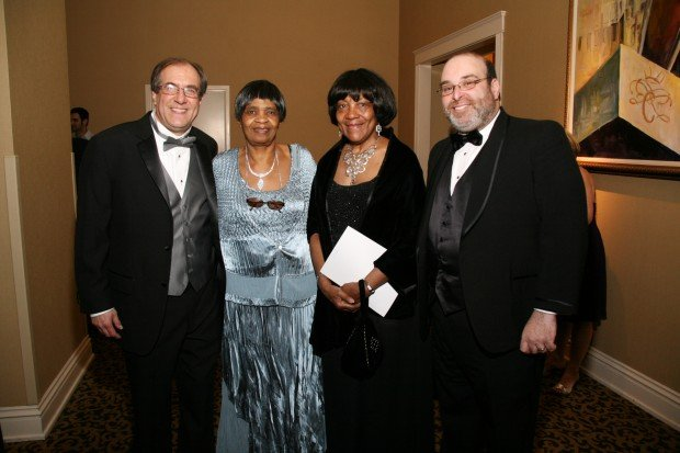 Dan and Delores Verner, Claudette Gibson, Tom Glick