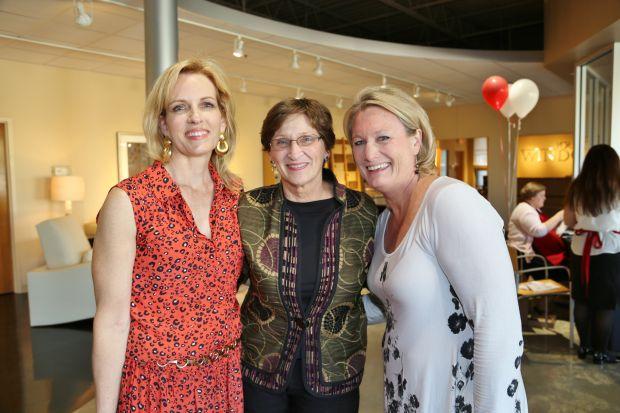 Ann Sutter, Kathy Parks, Martha Feeback