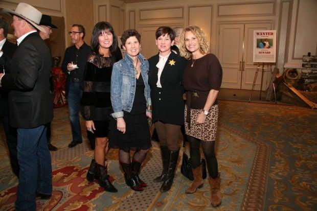 Beth McCurdy, Lisa Uxa, Anne Levitt, Kitty Fagundes