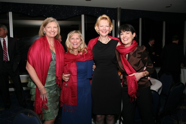 Carol Farris, Nancy Nickerson, Barbara Hommel, Judy Kouchoukos
