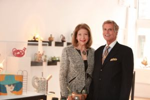 ARTrageous GOLD Ball co-chairs Phyllis Langsdorf and David Diener